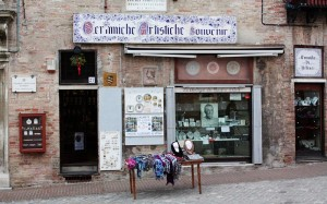 Maestri d'Arte Ceramics Shop - Urbino Italy