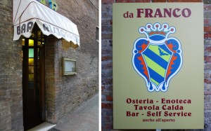 Da Franco Restaurant - Urbino Italy
